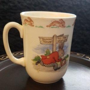 Antique Bunnykins Fine Bone China Tea Cup